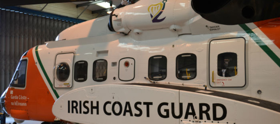 Irish Coast Guard helicopter in Sligo completes record number of missions in 2015