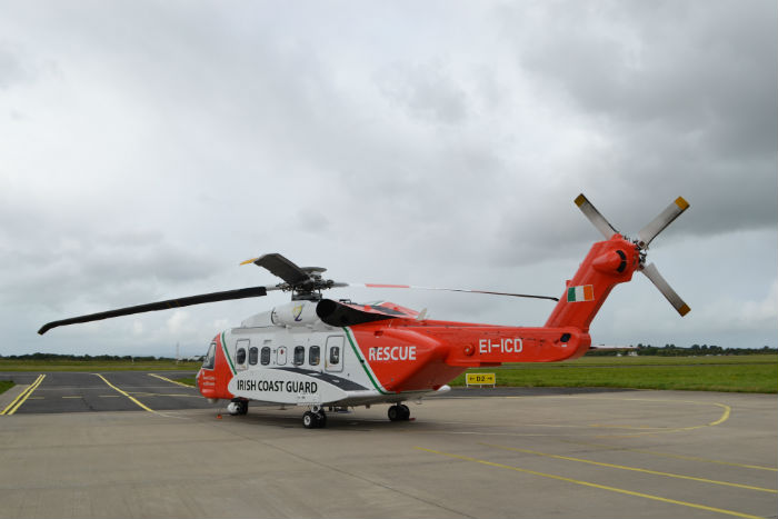 Irish Coast Guard Sikorsky S-92