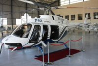 Bell deliver fourth 407GXP in South Africa