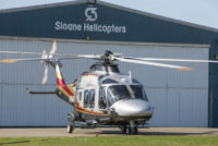 Sloane Helicopters gains Part 145 maintenance on AW169